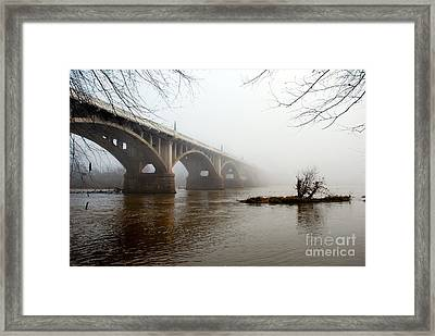 Fade To Infinity Framed Print