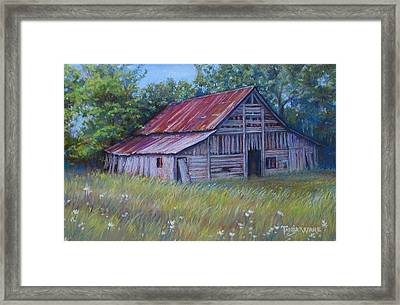Faded Beauty Framed Print by Tanja Ware