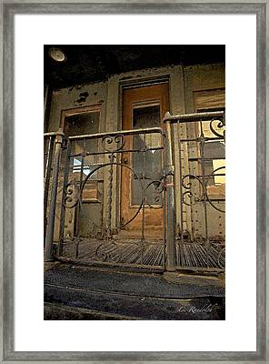 Framed Print featuring the photograph Faded Glory by Cheri Randolph