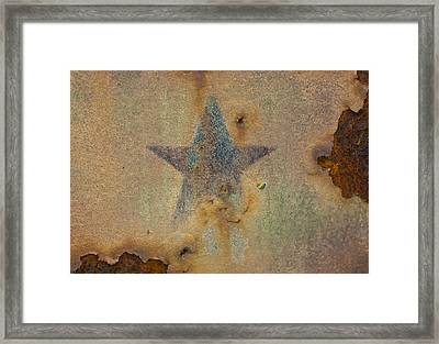 Faded Glory Framed Print by Christi Kraft