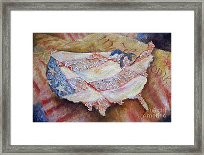 Faded Glory Framed Print by Deborah Smith
