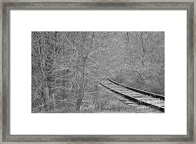 Faded Memory  Framed Print by Juls Adams