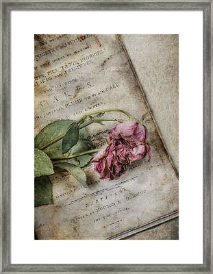Faded Framed Print by Robin-Lee Vieira