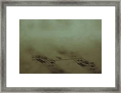 Fades Framed Print