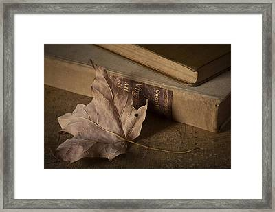 Fading Framed Print by Amy Weiss