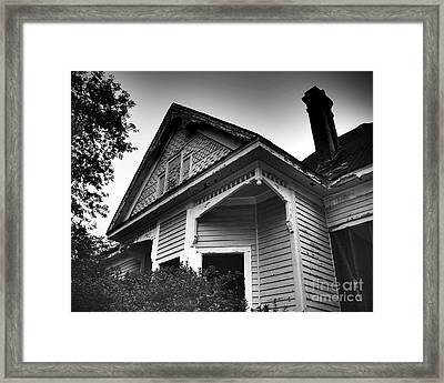 Fading Away Framed Print