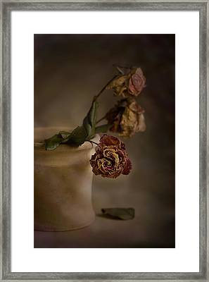 Framed Print featuring the photograph Fading Away by Trevor Chriss