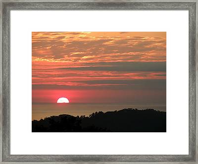 Fading Fast Framed Print by Gregory Young