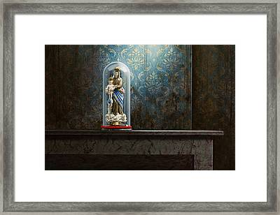 Fading Glory Framed Print by Mark Van crombrugge
