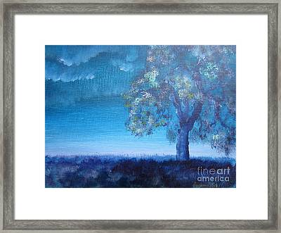 Fading Light Framed Print by Laurianna Taylor