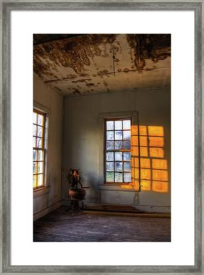 Fading Light Framed Print by Mark Alder