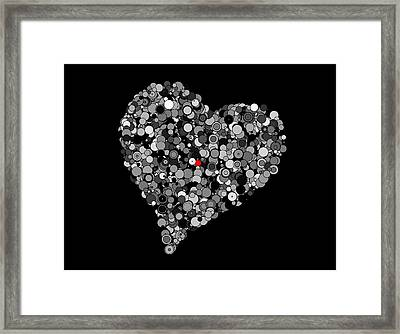 Fading Love Framed Print by Marianna Mills