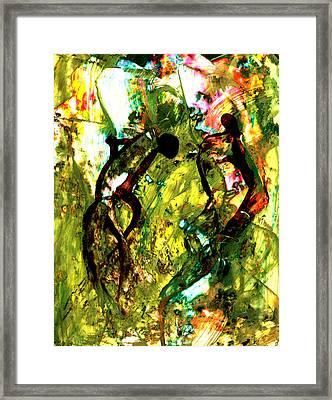 Fading Memories Framed Print by Douglas G Gordon
