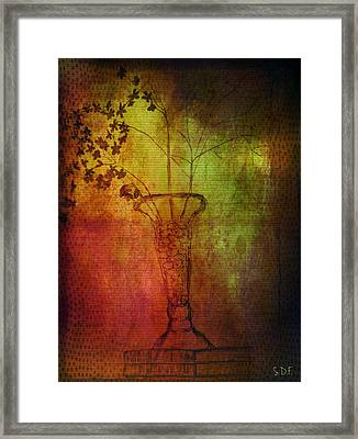 Fading Memory  Framed Print by Sherry Flaker