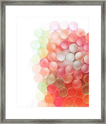 Fading Out Framed Print