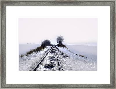 Fading To Lonesome Infinity Framed Print
