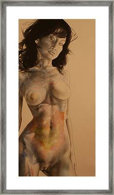 Fae From The East Framed Print