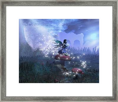 Faerie Framed Print by David Mckinney