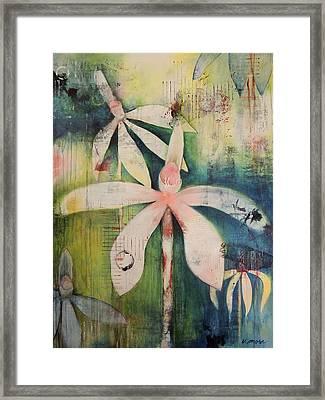 Faerie Fields Framed Print by Vivian Mora