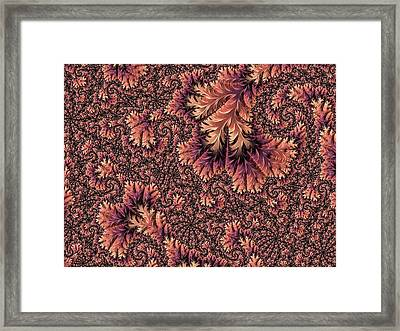 Framed Print featuring the digital art Faerie Forest Floor Ill by Susan Maxwell Schmidt
