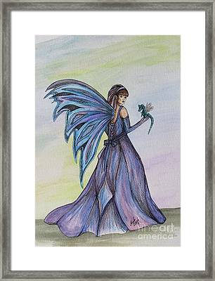 Faery Worlds Framed Print