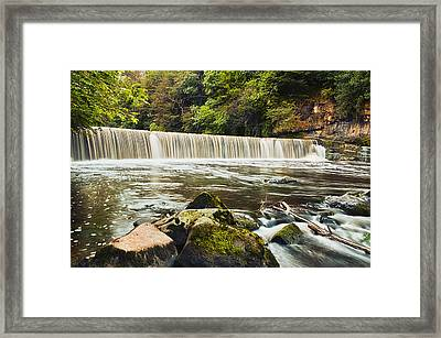 Fair A' Far Dam Framed Print