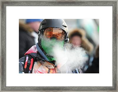 Fair Elections Demonstrator, Russia Framed Print by Science Photo Library