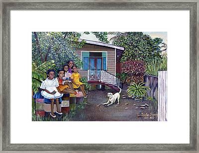 Fair Ladies Framed Print