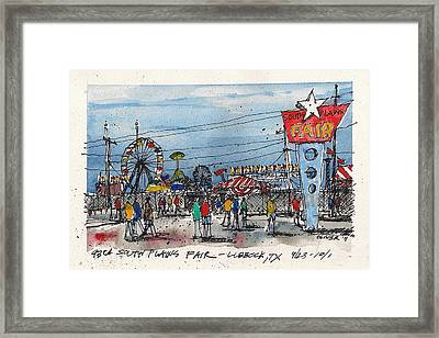 Framed Print featuring the mixed media Fair Time by Tim Oliver