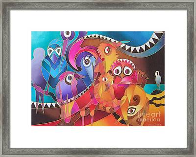 Fair Weather Friends Framed Print