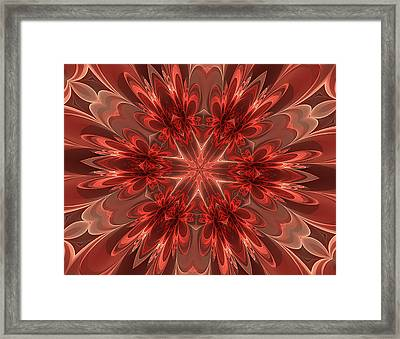 Fairest Of Them All Kaleidoscope Framed Print