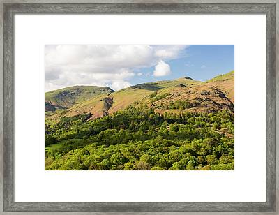 Fairfield From Loughrigg Terrace Framed Print by Ashley Cooper