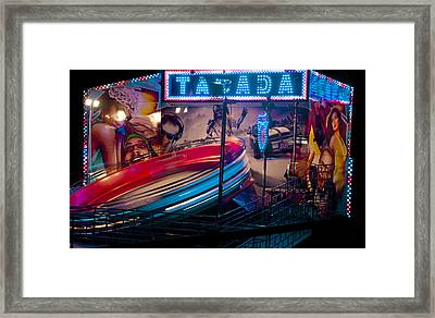 Fairground Attraction Framed Print by Brendan Quinn