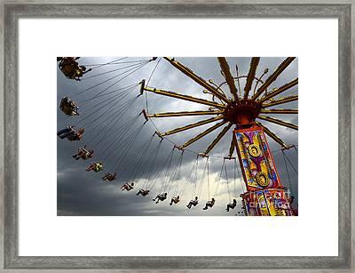 Take A Turn Framed Print by Bob Christopher