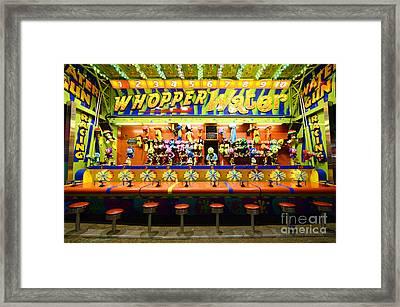 Fairground Fun Sideshow 2 Framed Print by Bob Christopher
