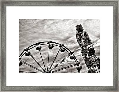 Fairground Framed Print by Olivier Le Queinec