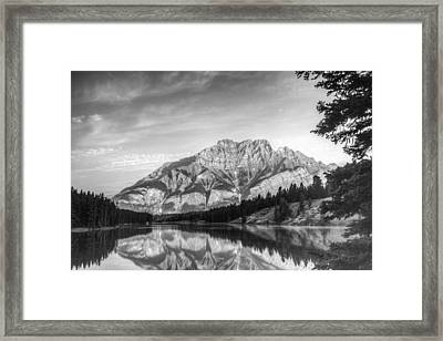 Fairholme Range Mountains Framed Print by Douglas Barnett