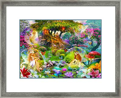 Fairies Framed Print by Jan Patrik Krasny