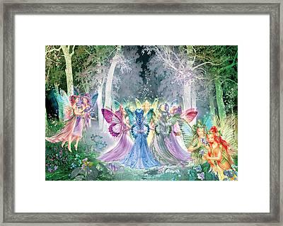 Fairies Song Framed Print by Zorina Baldescu