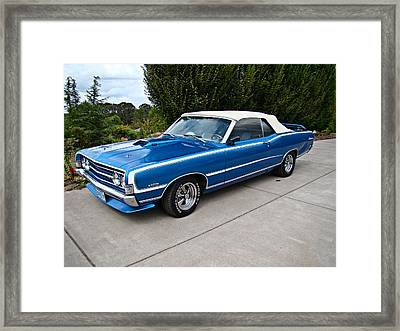 Framed Print featuring the photograph Fairlane 500 by Nick Kloepping