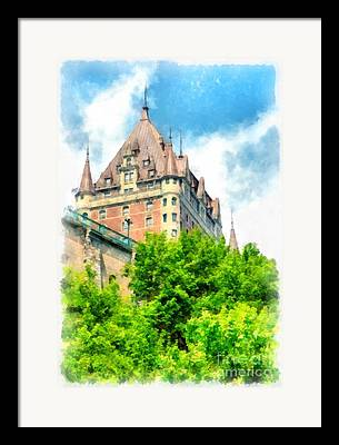 Fairmont Framed Prints