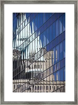 Fairmont Reflections Framed Print