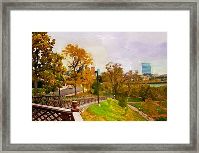 Fairmount View Framed Print by Alice Gipson