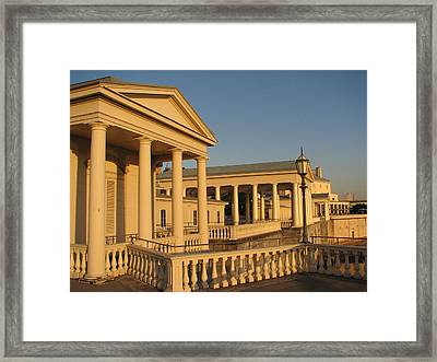 Fairmount Water Works Framed Print by Christopher Woods