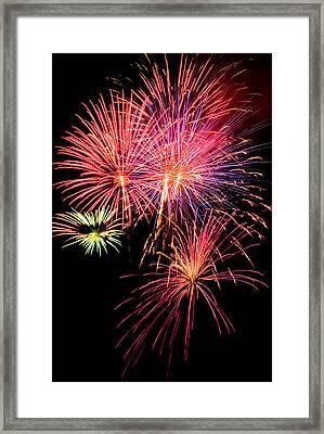 Fairplay Fireworks Framed Print