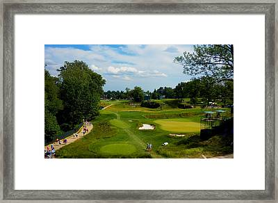 Fairways Greens Framed Print