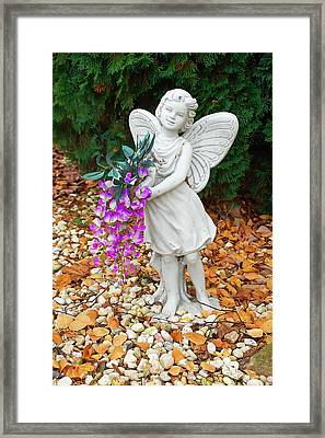Fairy Framed Print by Aimee L Maher Photography and Art Visit ALMGallerydotcom