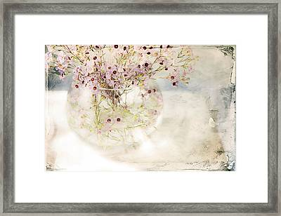 Fairy Bouquet Framed Print by Theresa Tahara