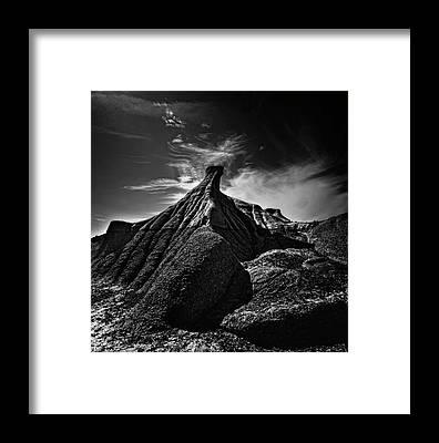 Badlands Framed Prints