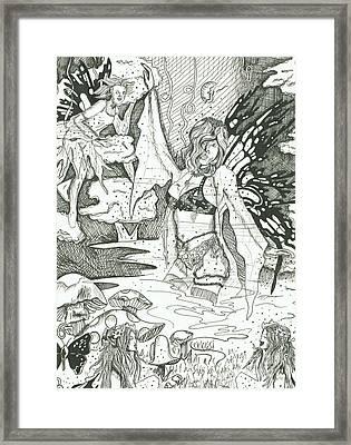 Fairy Dance 1 Framed Print